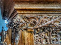 26. Pulpit detail