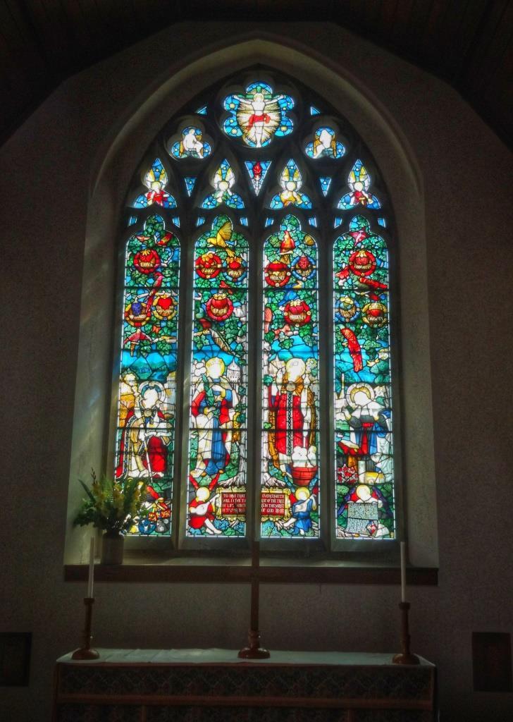 10.Charles Eamer Kempe east window