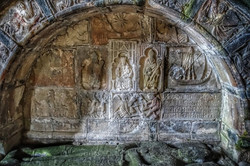 17. Detail of Alexander MacLeod's tomb