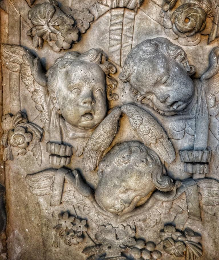 17. Katherine Castell tomb detail