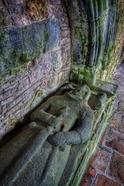 23. Tomb and effigy of William MacLeod