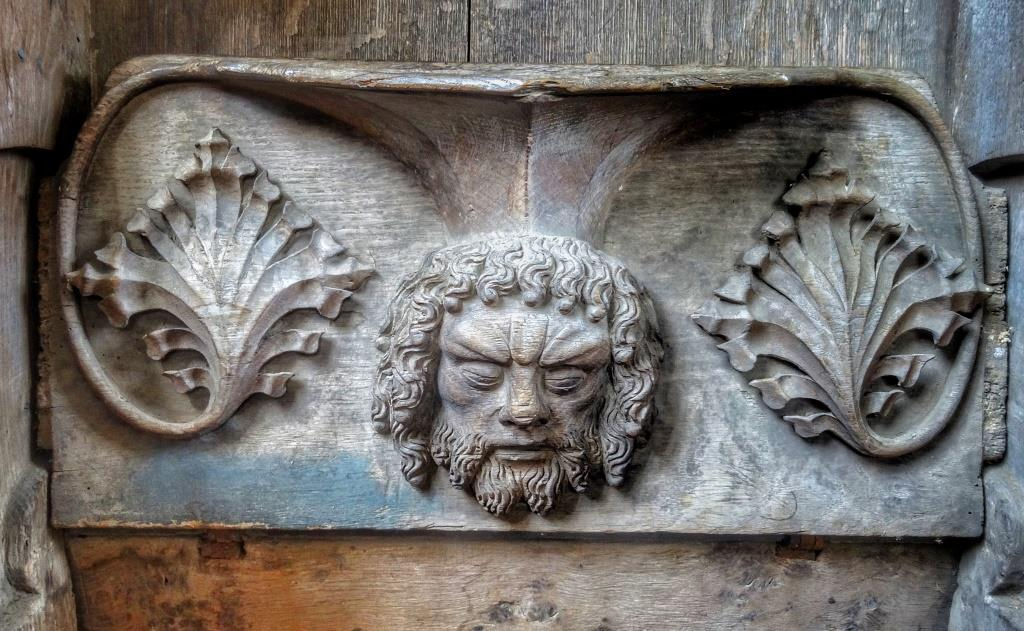 17. Choir misericord