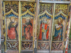 26. Rood screen painting
