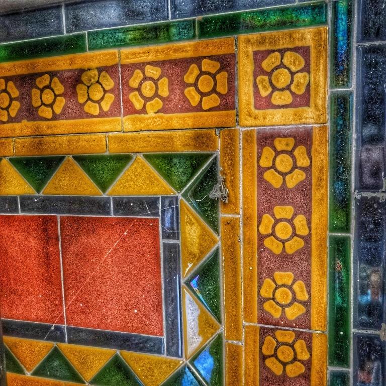 13. Altar tiles