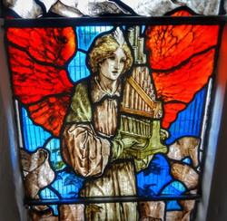 9. Detail of Woodroffe's west window