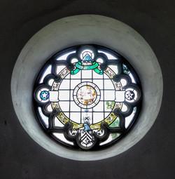 12. 19th century round window