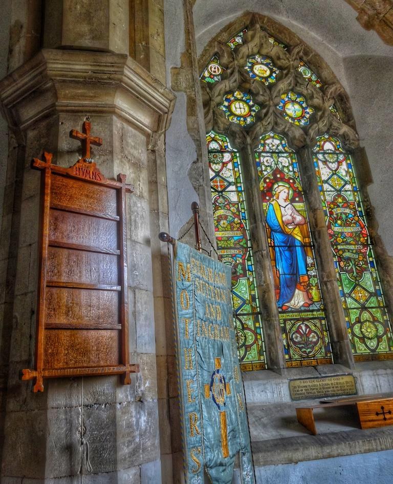 4. Lady Chapel window