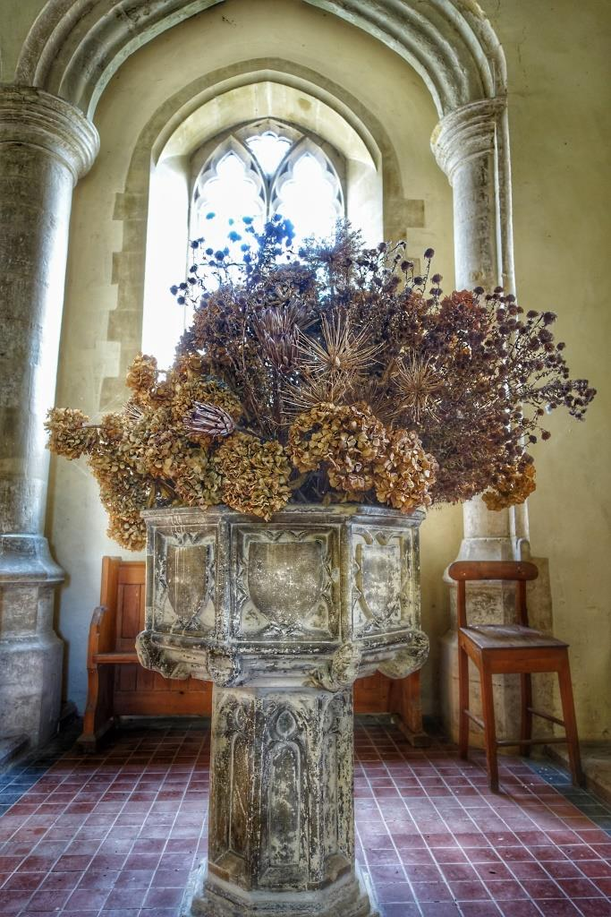 5. Font from St Etheldreda, Norwich