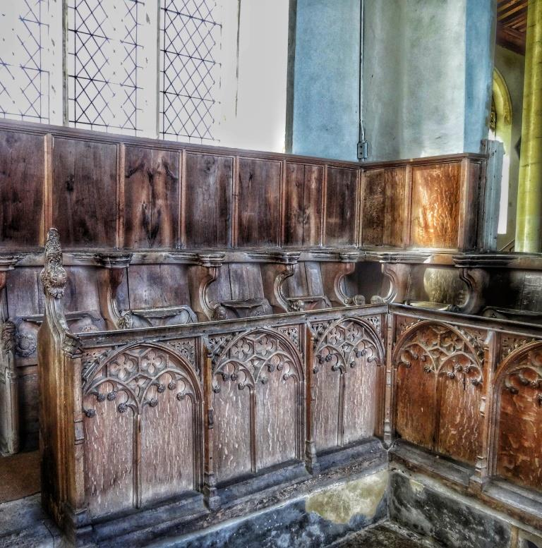 11. Choir seats