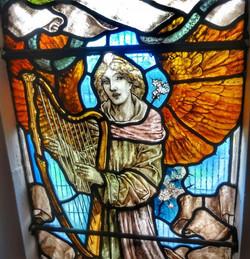 15. Detail of Woodroffe's west window