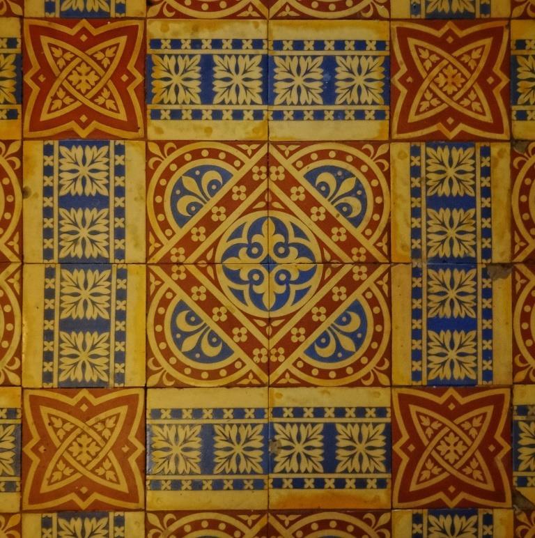 24. Minton tiles detail