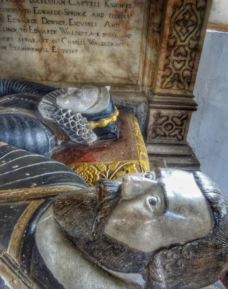 35. Lovell tomb detail