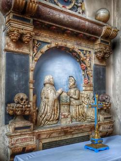 35. Memorial to Sir Robert & Lady Elizabeth Suckling