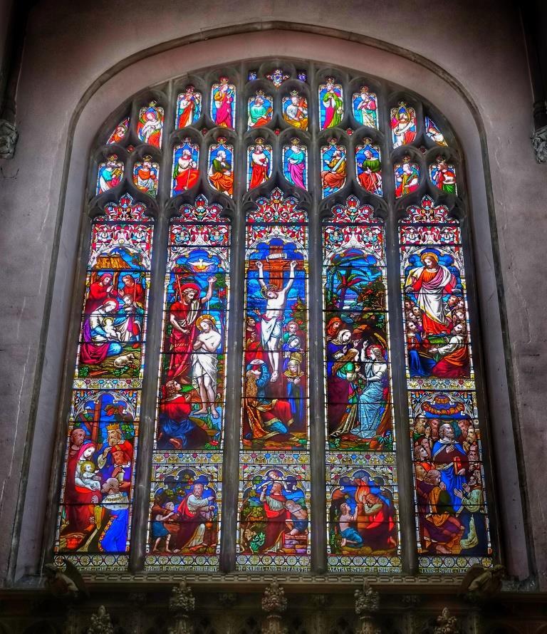 23. East window by Ward & Hughes