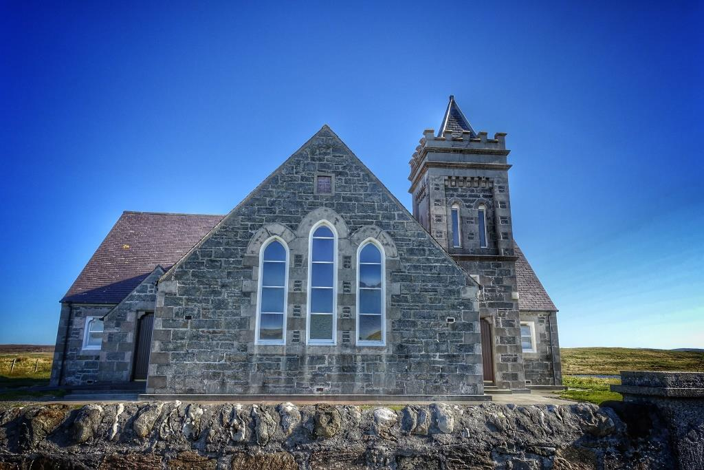 1. Kilmur Church, North Uist