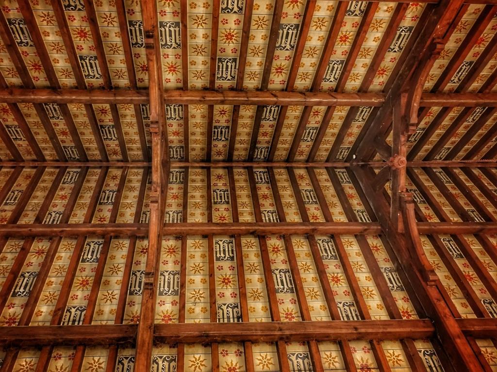 37. Roof paintings