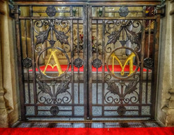 8. Decorative gates to Lady Chapel