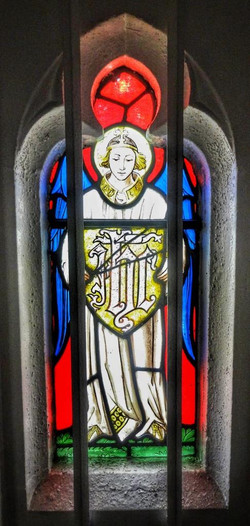 23. Blessed Sacrament Chapel window