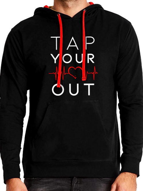 TAP YOUR HEART OUT HOODIE