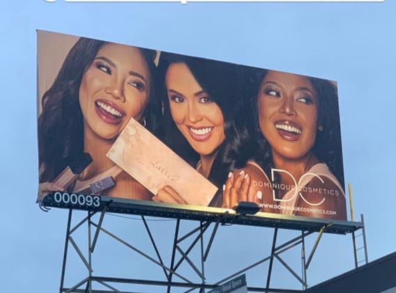 Dominique Cosmetics Campaign