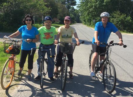 Joining a bike gang
