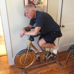 Birthday biking