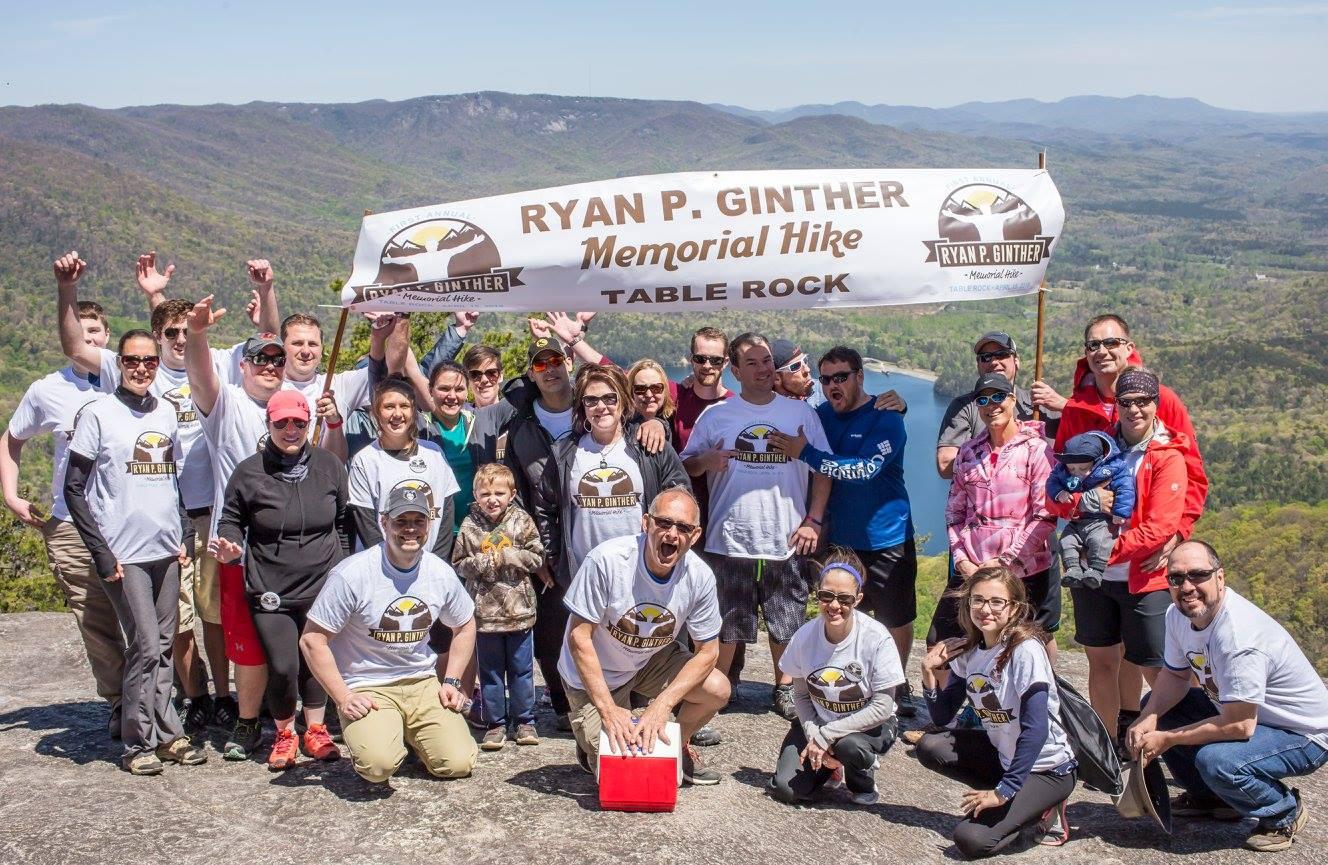 Ryan P. Ginther Memorial Hike 2016