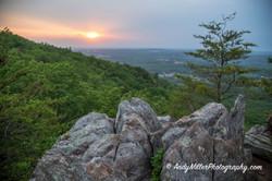 Crowders Mountain Sunset