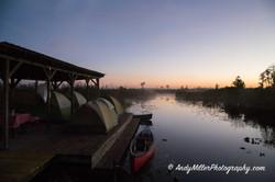 Okfenokee Swamp Shelter Campsite