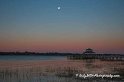 Charleston SC first light of morning