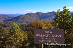 Walnut Cove Overlook Autumn