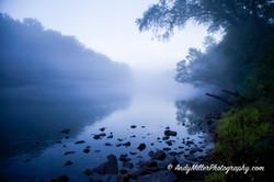 Foggy Morning on Chattahoochee River
