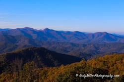 Blue Ridge Parkway Autumn Landscape