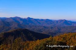 Blue Ridge Parkway Autumn Landscape
