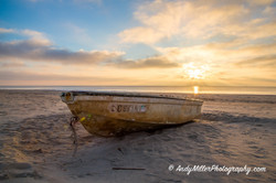 Beached Boat Hilton Head Island, SC