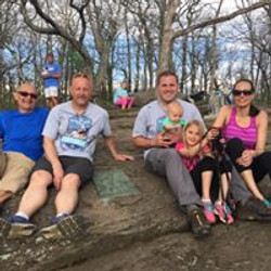 Ryan P. Ginther Memorial Hike - Official Start of Appalachian Trail