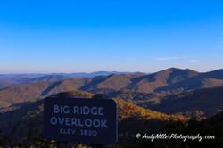 Big Ridge Overlook Autumn Colors