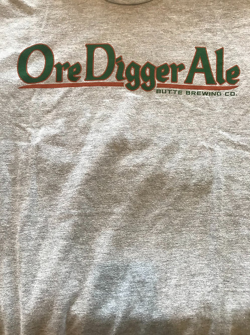 Light Grey Ore Digger Ale T-Shirts