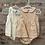 Thumbnail: Linen Peter Pan Collar Girls Bloomer Set