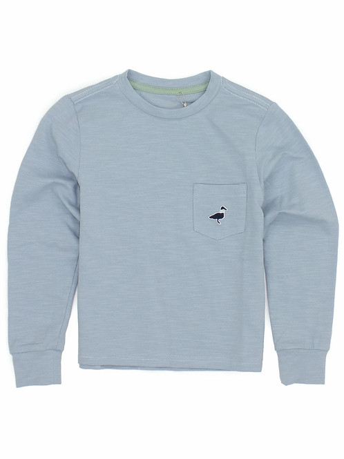 Properly Tied Long-sleeved Shore Tee