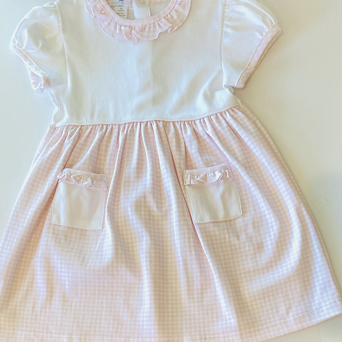 Olivia Pink Gingham Dress