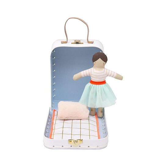 Mini Lila Doll and Suitcase