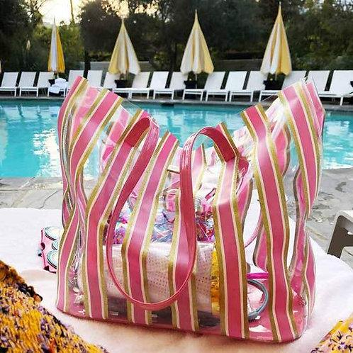 Stripe Here, Stripe Now Tote Bag