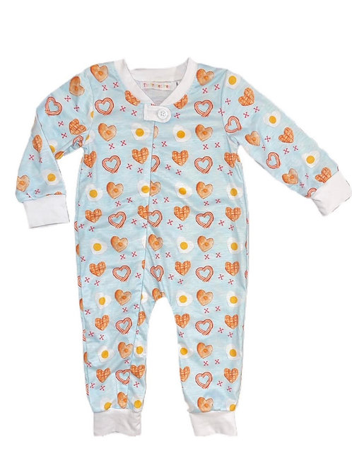 Valentine's Day coverall