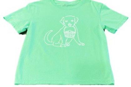 Short Sleeve Easter Pup T-Shirt