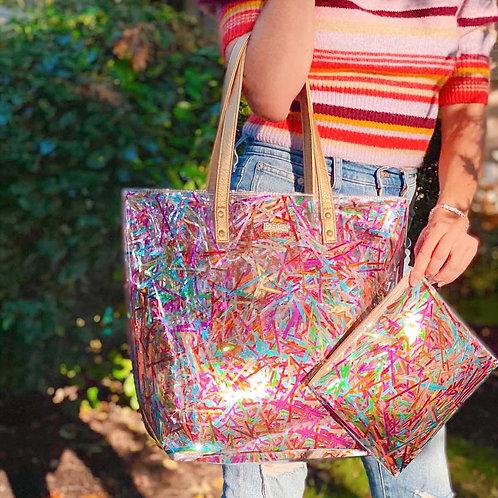 Tinsel Streamer Bucket Bag