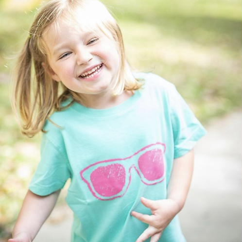 Short Sleeve Sunglasses T-Shirt