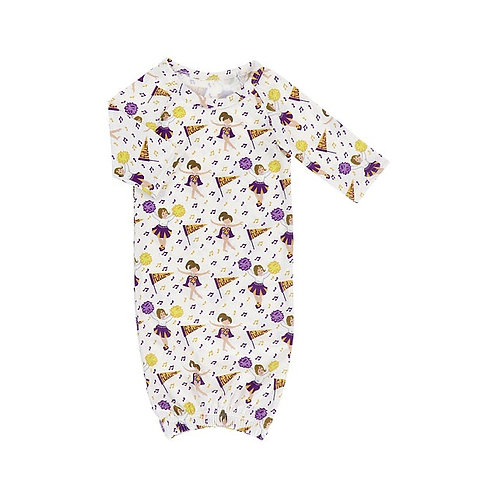 Future Tiger Girl Baby Gown