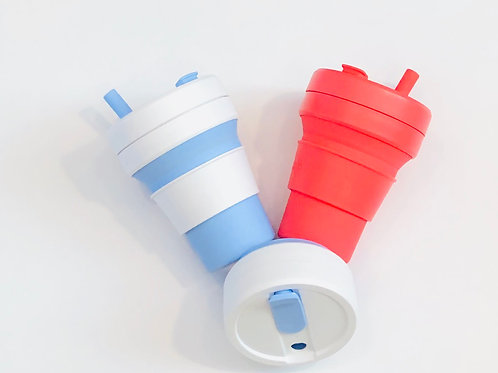 16 Oz Collapsible Reusable Cup