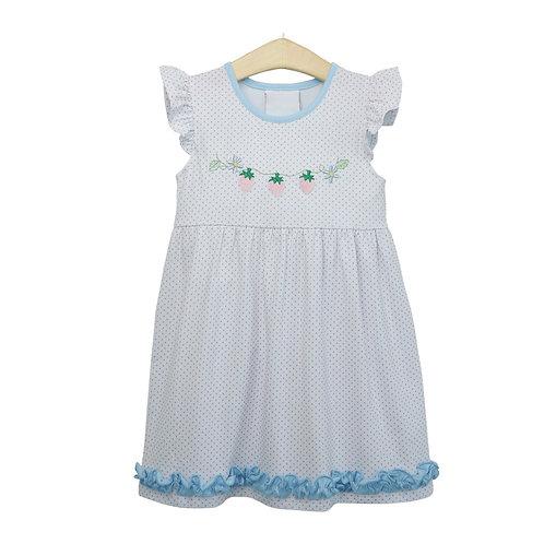 Strawberry Bitty Dot Dress